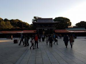 Meiji Shrine in Harajuku