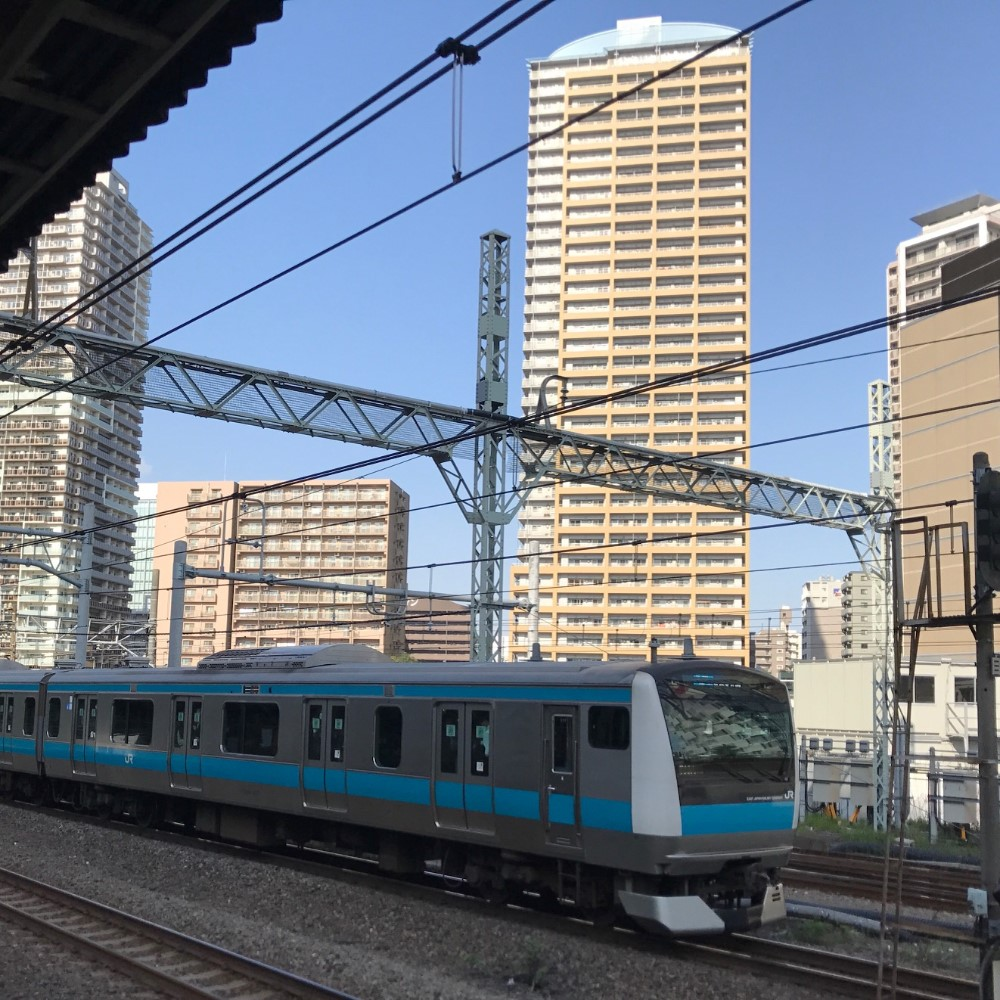 JR Japan Rail Keihin Tohoku line, Tokyo