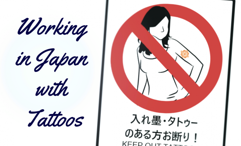 working in japan with tattoos