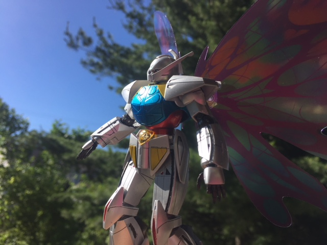 Model building is a popular hobby in Japan, especially Gundams!