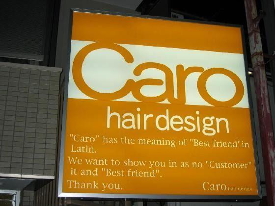 """""""Caro"""" has the meaning of """"Best friend""""in Latin. We want to show you in as no """"Customer"""" it and """"Best friend"""". Thank you."""