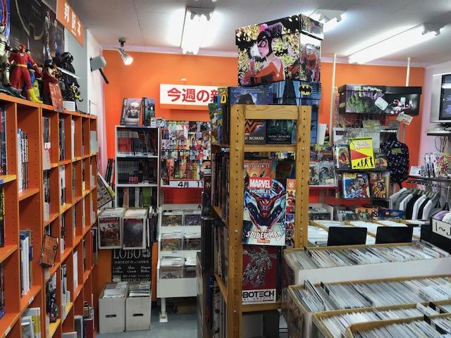 Blister Comics in Akihabara