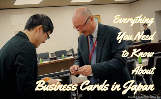 How To Exchange Business Cards In Japan Talenthub Blog Live And
