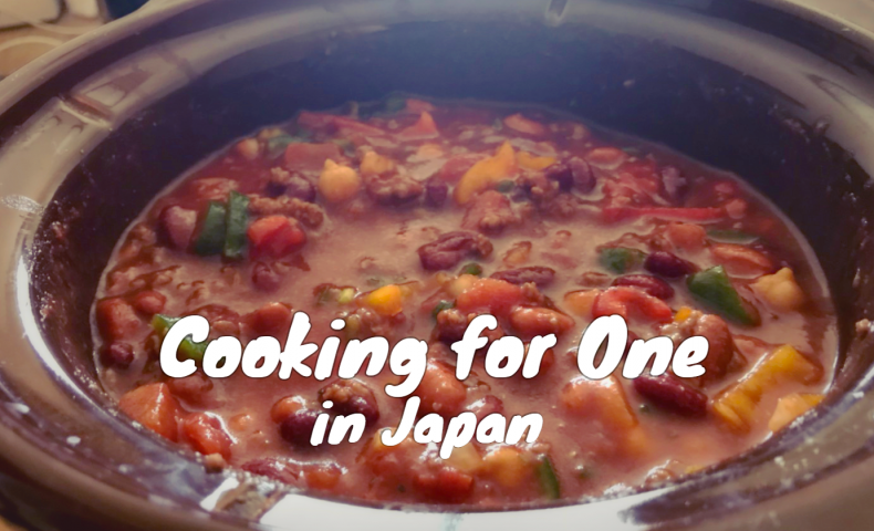 one pot cooking for Japan, chili