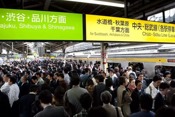 Việc đi lại được xem là vấn đề dẫn đến stress nhiều nhất ở Nhật.