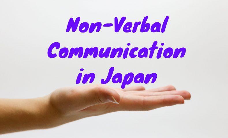 using hand gestures in Japan