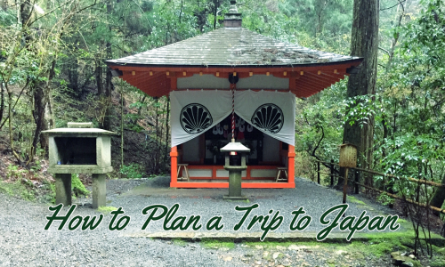 tips on how to plan a personalized itinerary in Japan