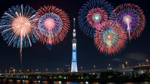 Sumida Fireworks Festival