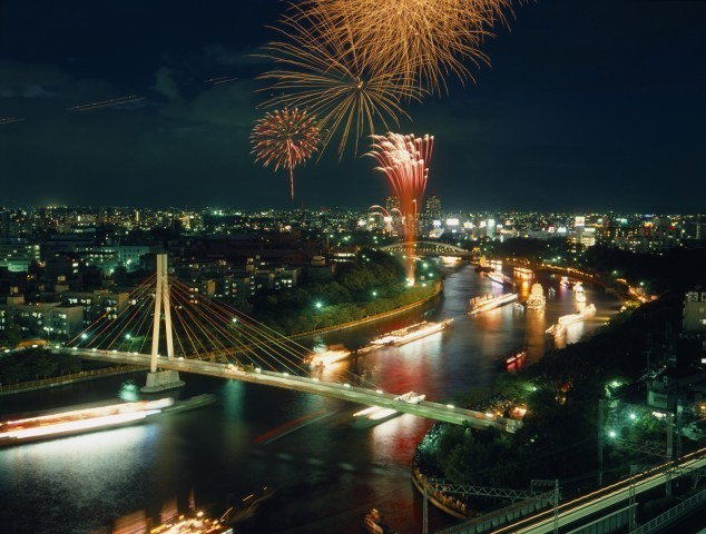 Tenjin Fireworks Festival 2019