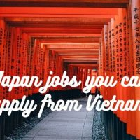 Japan Jobs you can apply from Vietnam
