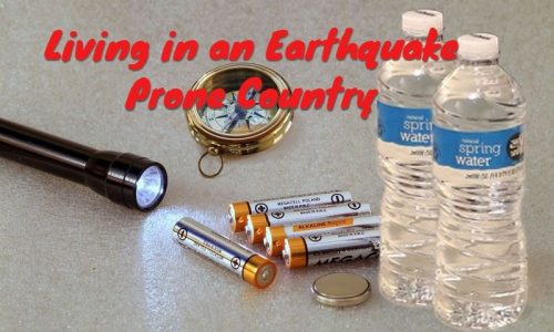 earthquake preparedness items